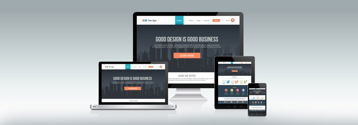 A responsive website for your business